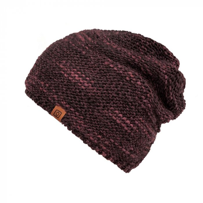 detail ZOLA BEANIE (raisin)