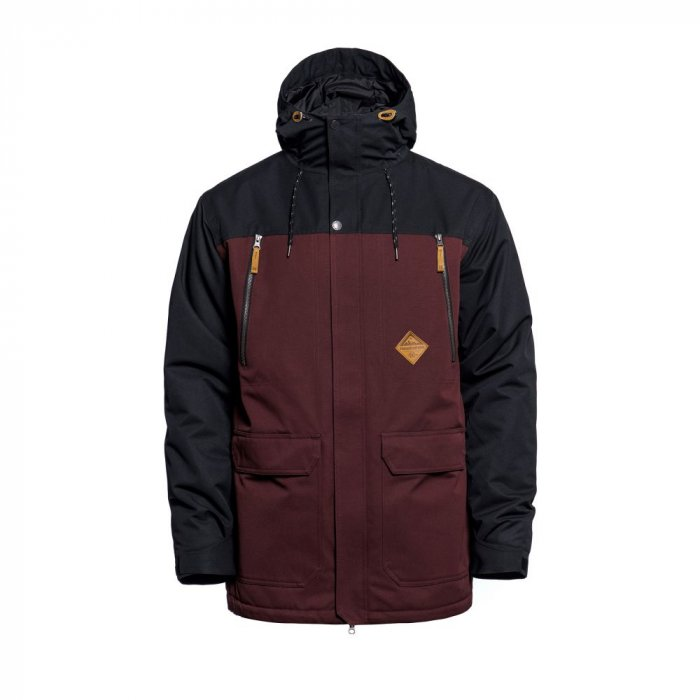 detail THORN JACKET (raisin)
