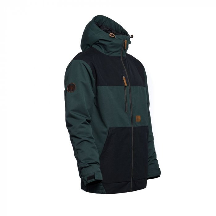 detail REVEL JACKET (deep green)