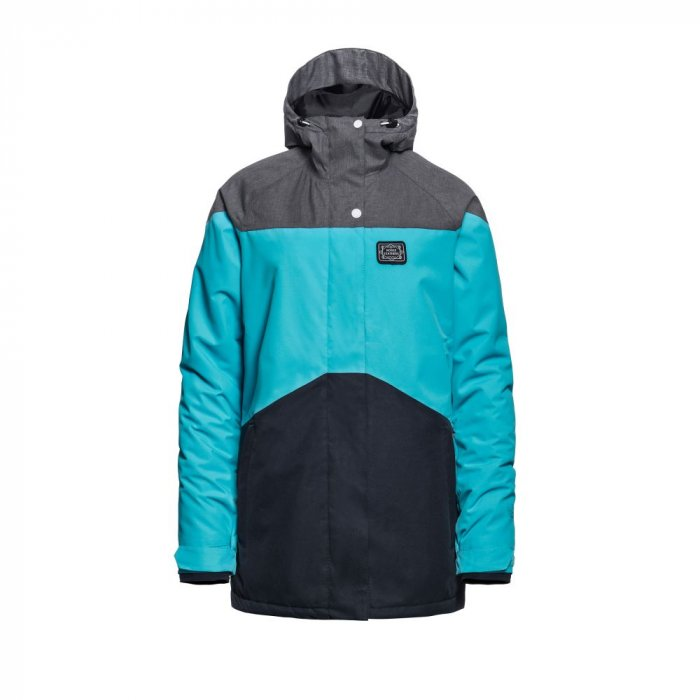 detail ADELE JACKET (scuba blue)