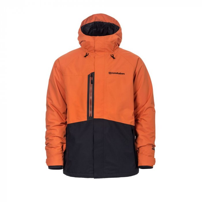 detail BARKELL JACKET (jaffa orange)