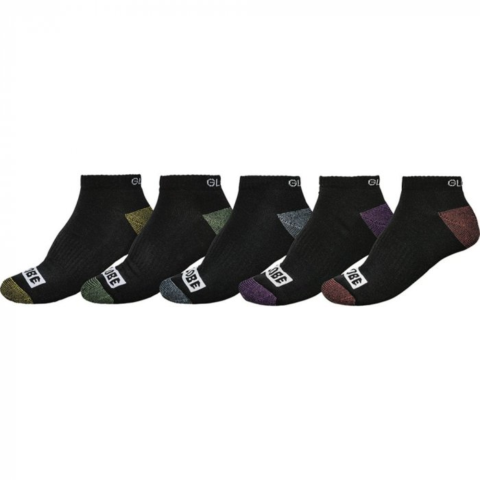 detail Ponožky Globe Romney Ankle Sock 5 Pack Assorted 7-11