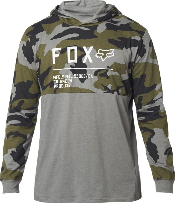 detail FOX Non Stop Camo Hooded Ls Knit