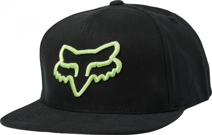 detail Fox Instill Snapback Hat Black/Green OS