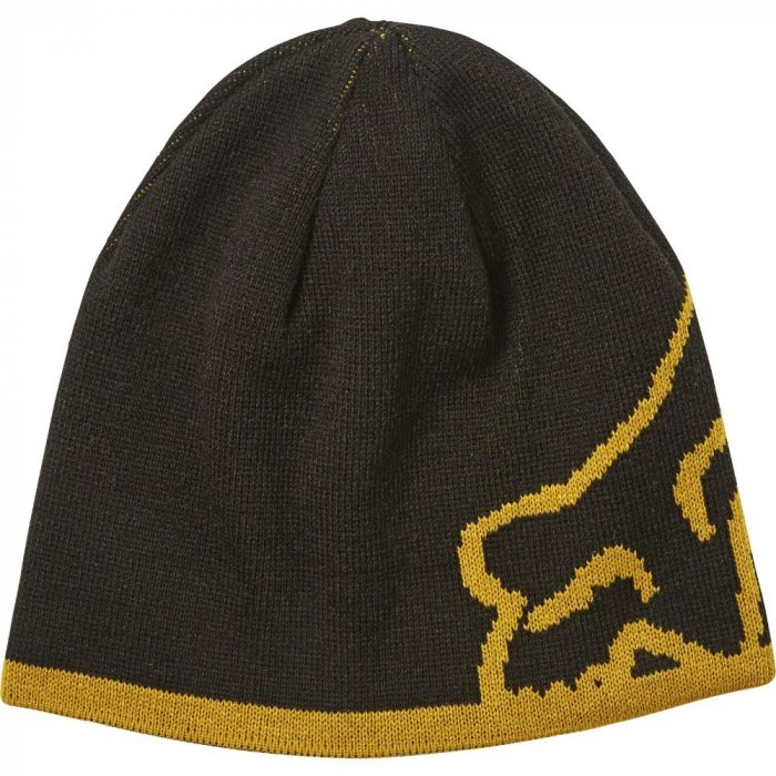 detail Pánský kulich Fox Streamliner Beanie Black/Yellow OS