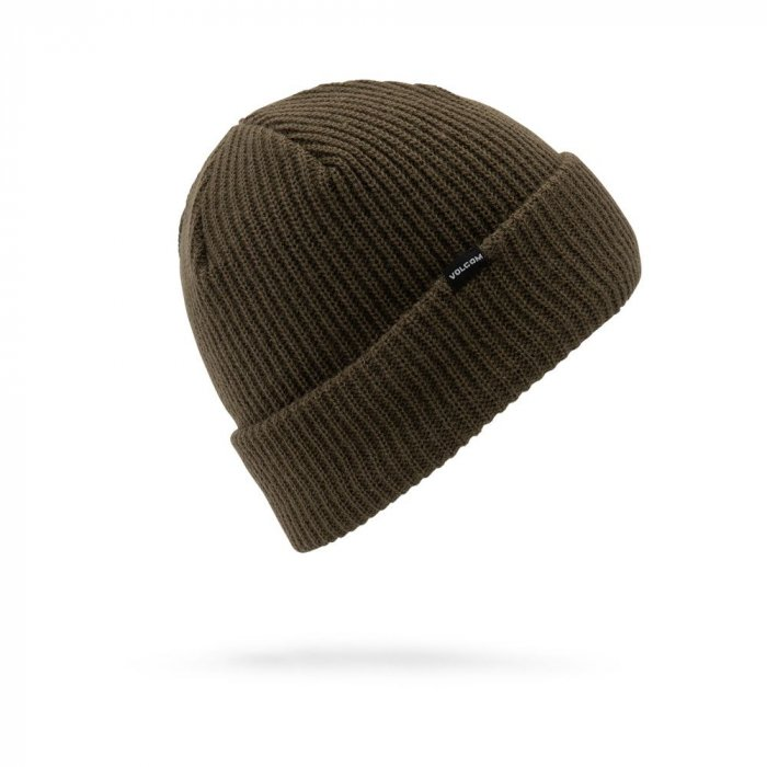 detail Pánský kulich Volcom Sweep Lined Beanie Black Military O/S