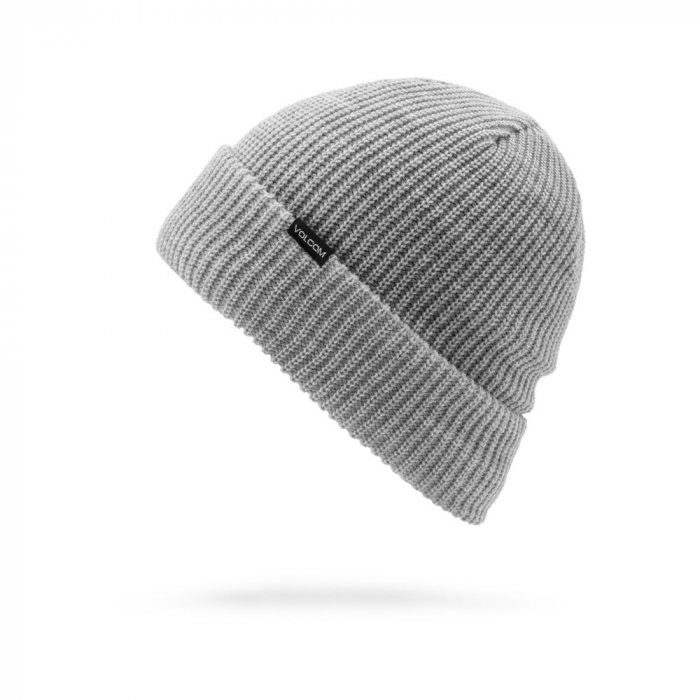 detail Dámský kulich Volcom Polar Lined Beanie Heather Grey O/S